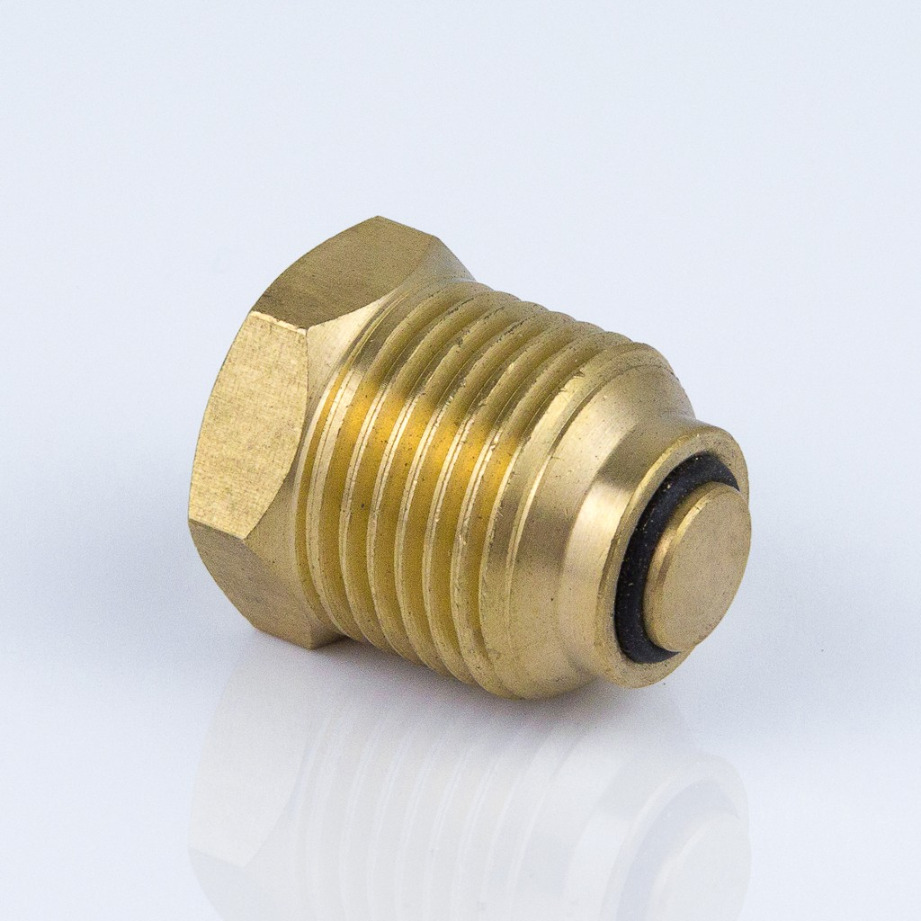 Клапан отсечной к манометру или термоманометру