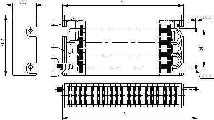 Конвектор «Универсал двухрядный Авто» КСК-20